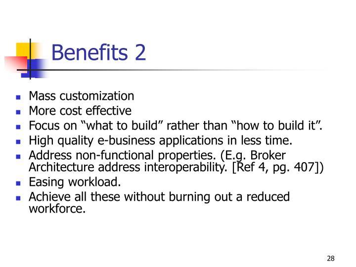 Benefits 2