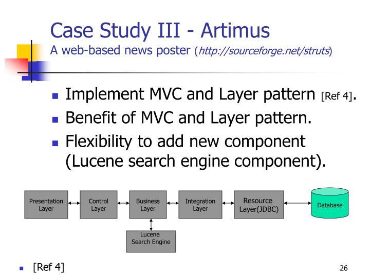 Case Study III - Artimus