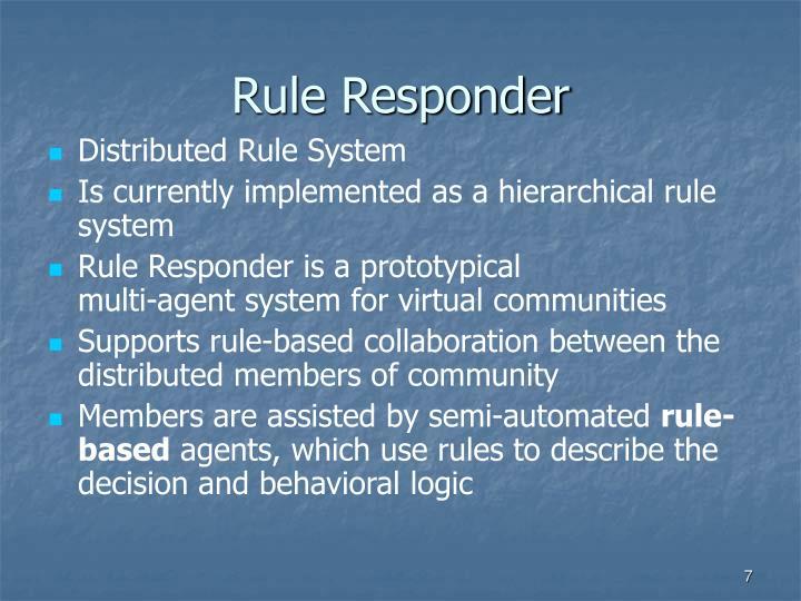 Rule Responder