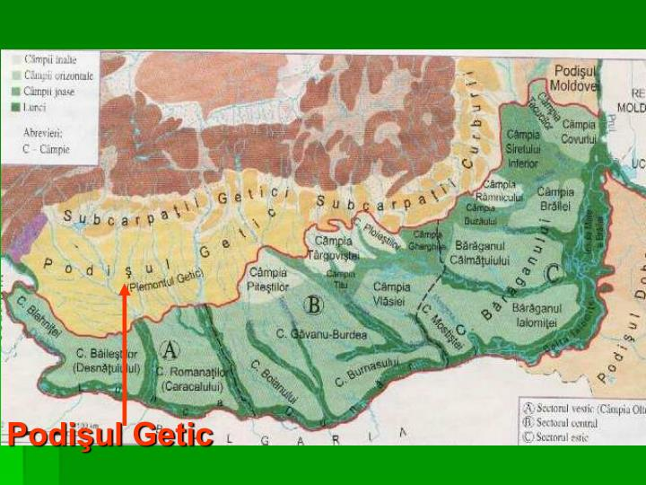 Podişul Getic