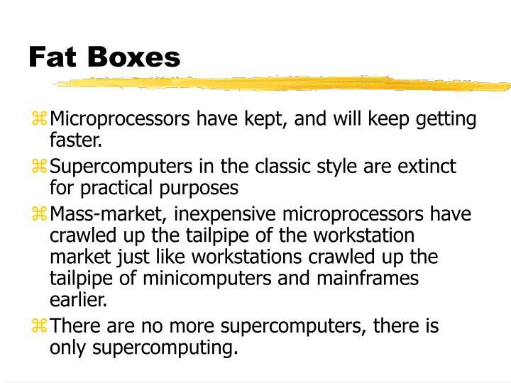 Fat Boxes