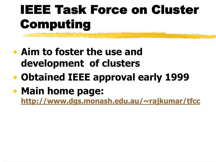 IEEE Task Force on Cluster Computing