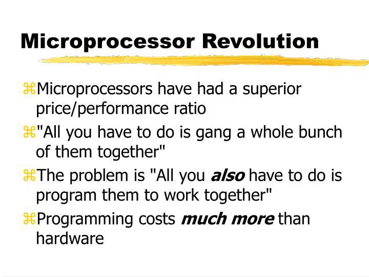 Microprocessor Revolution