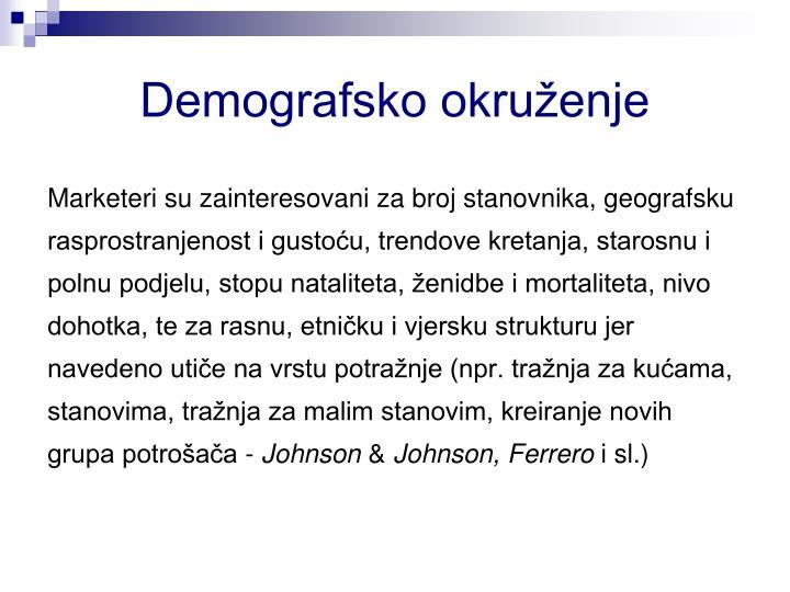 Demografsko okruženje