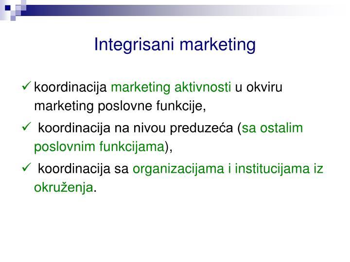 Integrisani marketing