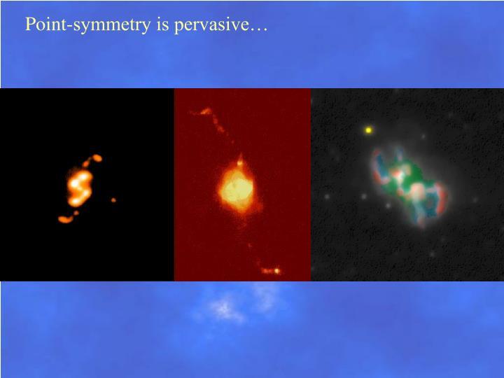 Point-symmetry is pervasive…