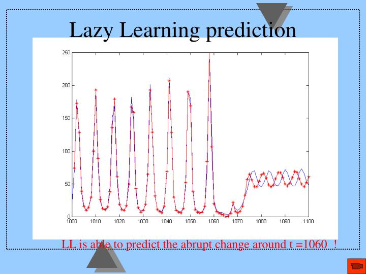 Lazy Learning prediction