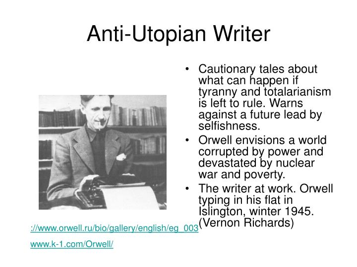Anti-Utopian Writer