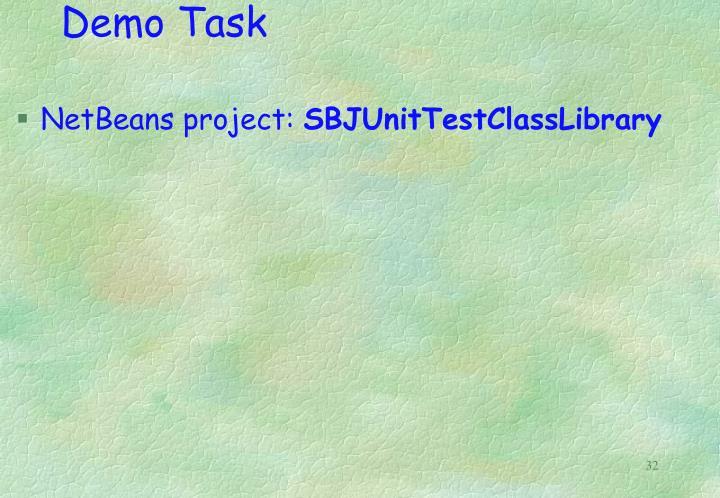 Demo Task