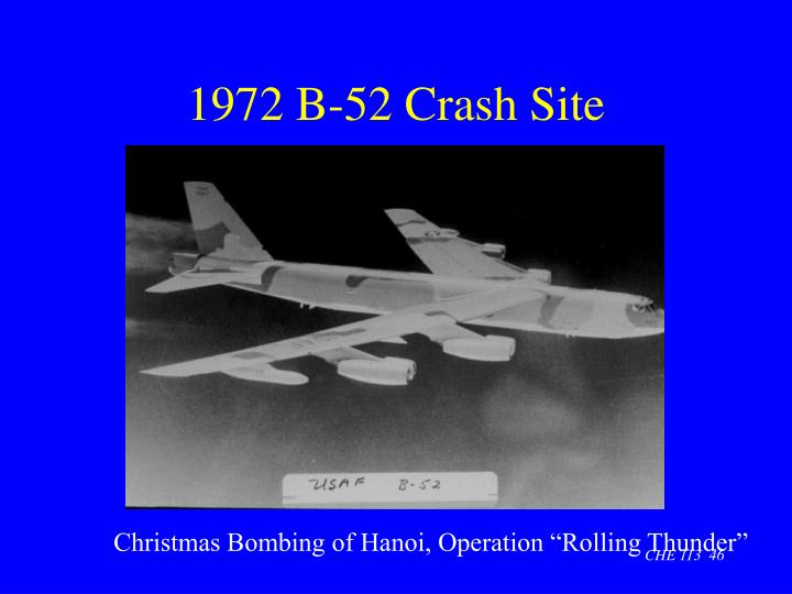 1972 B-52 Crash Site