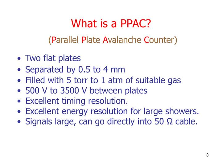 What is a PPAC?