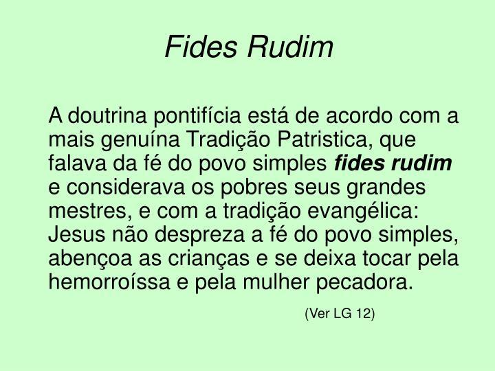 Fides Rudim