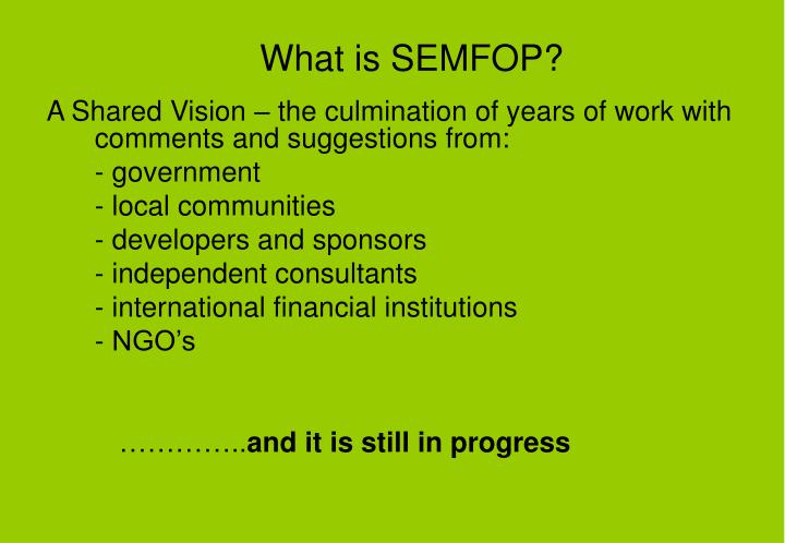 What is semfop