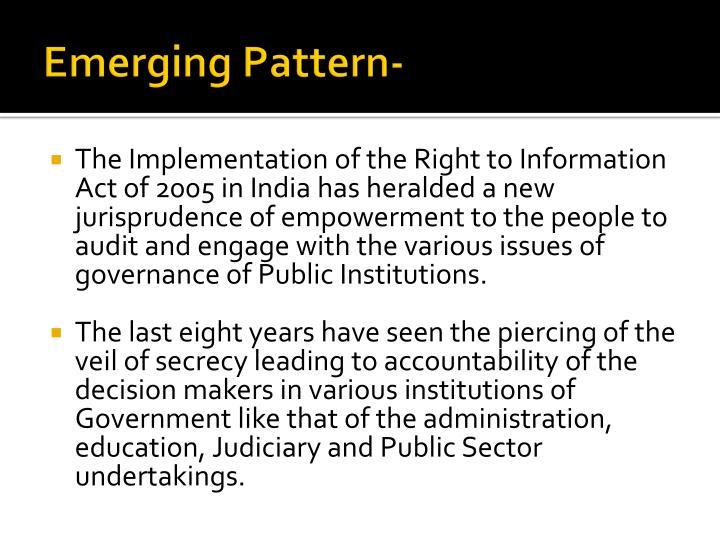 Emerging Pattern-