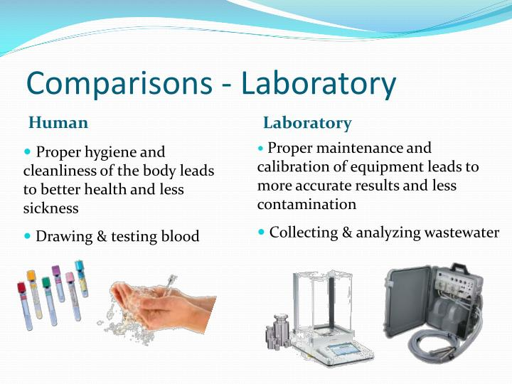 Comparisons - Laboratory