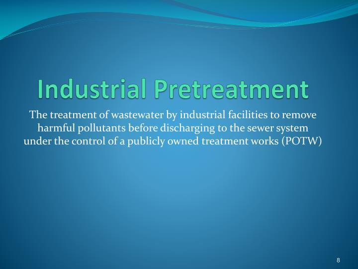 Industrial Pretreatment