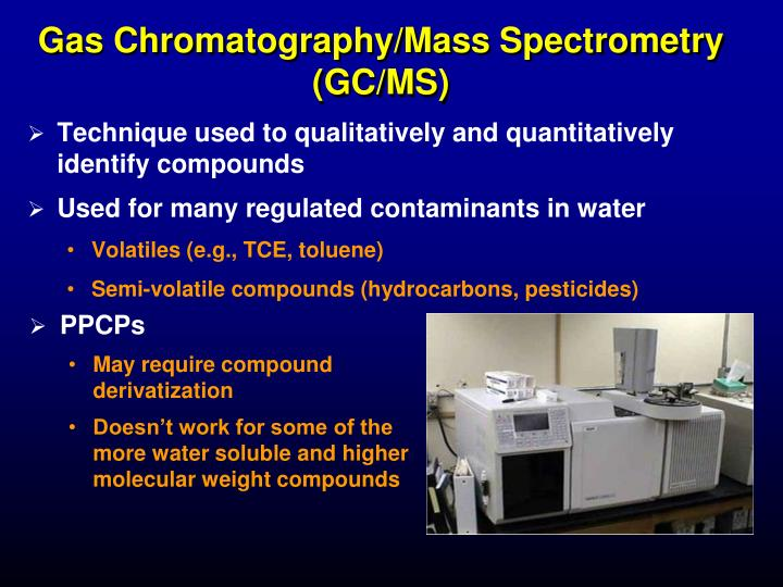 gas chromatography mass spectrometry in food analysis Gas chromatography–mass spectrometry (gc-ms) is a hybrid analytical technique that couples the separation capabilities of gc with the detection properties of ms to provide a higher efficiency of .