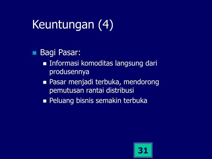 Keuntungan (4)