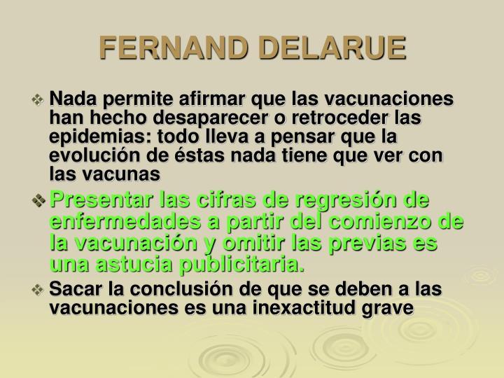 FERNAND DELARUE