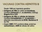 vacunas contra hepatitis b
