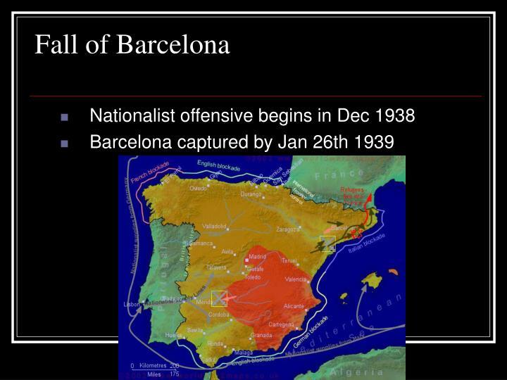 Fall of Barcelona