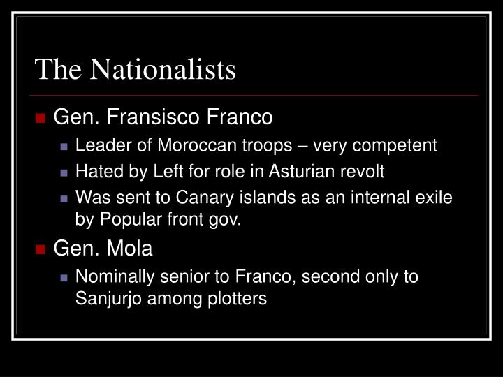 The Nationalists