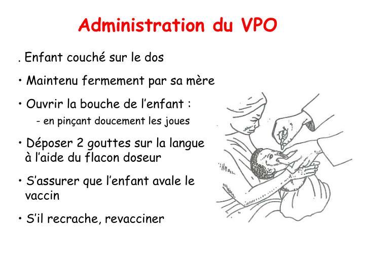 Administration du VPO