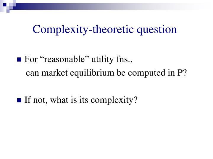 Complexity-theoretic question