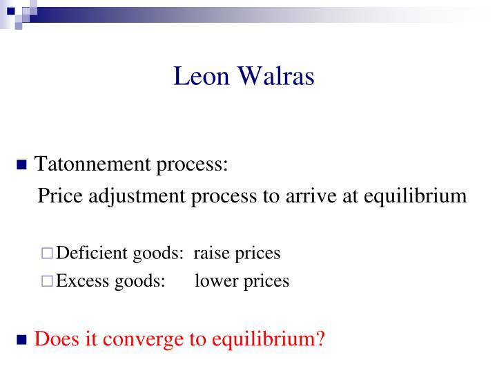 Leon Walras