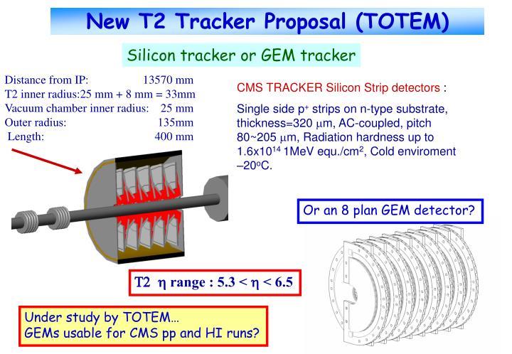 New T2 Tracker Proposal (TOTEM)
