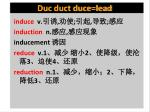 duc duct duce lead5