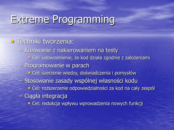 Extreme Programming