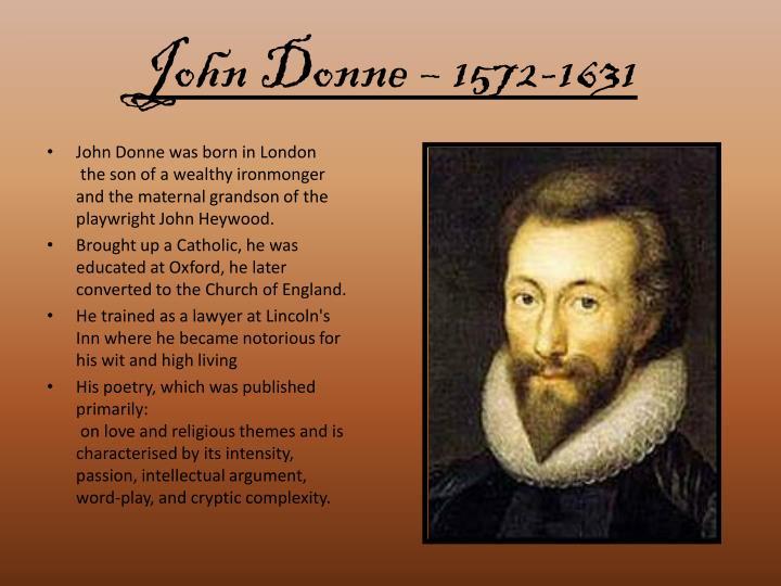 John Donne – 1572-1631
