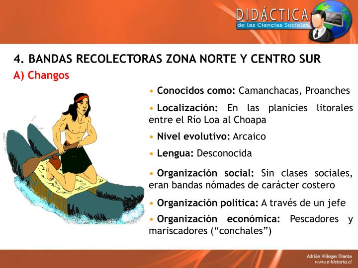4. BANDAS RECOLECTORAS ZONA NORTE Y CENTRO SUR
