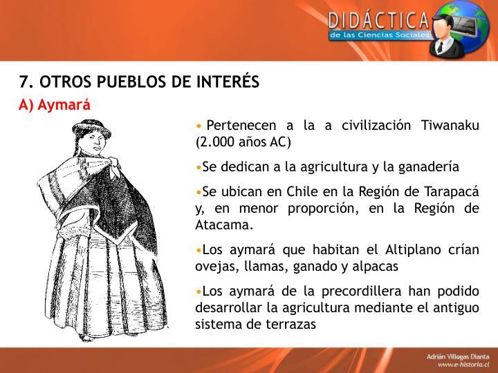 7. OTROS PUEBLOS DE INTERÉS