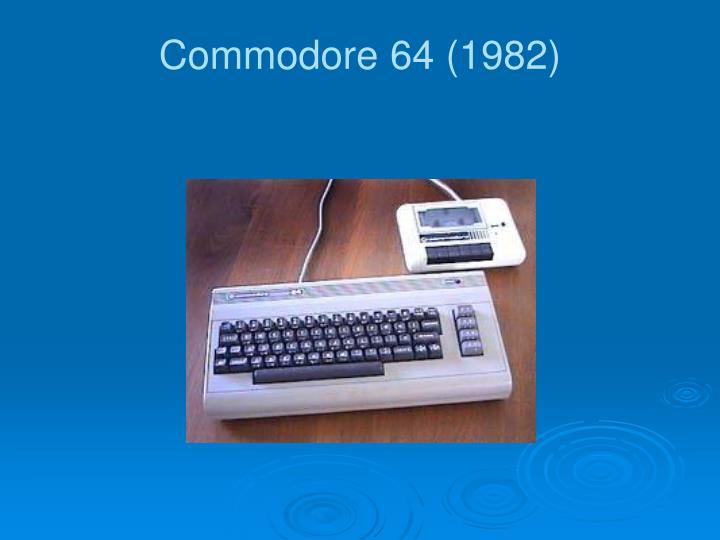 Commodore 64 (1982)
