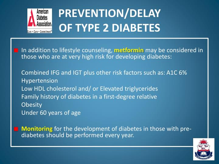 PREVENTION/DELAY