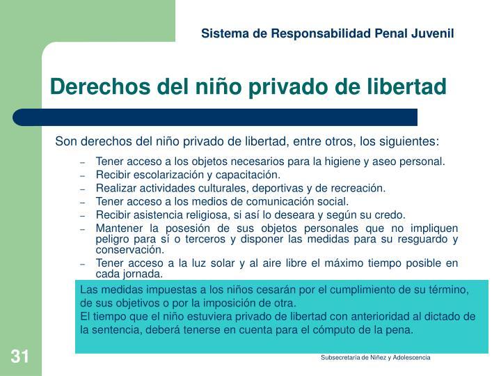 Sistema de Responsabilidad Penal Juvenil