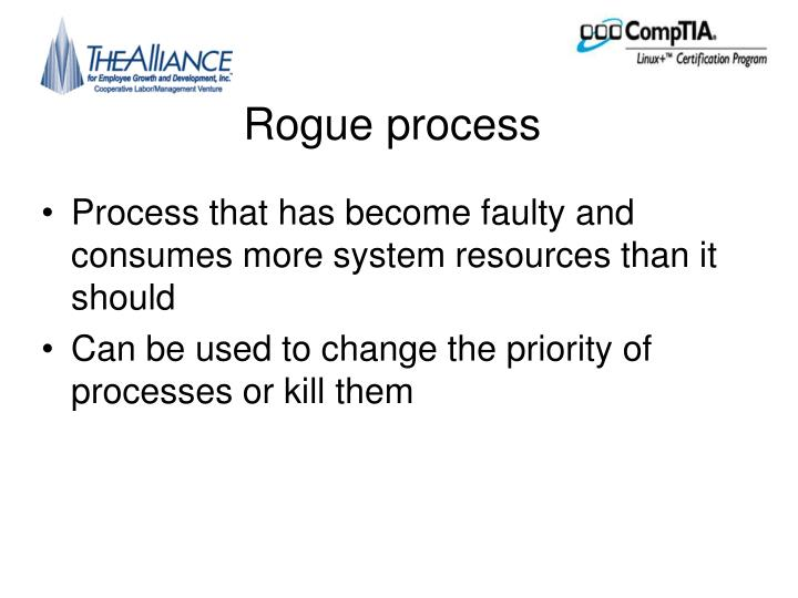 Rogue process