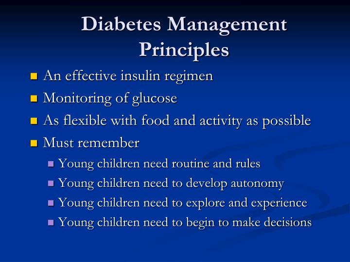 Diabetes Management Principles