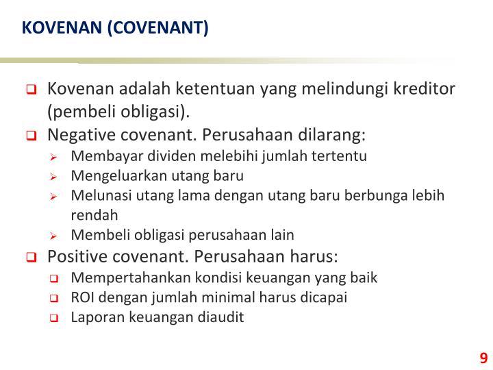 KOVENAN (COVENANT)