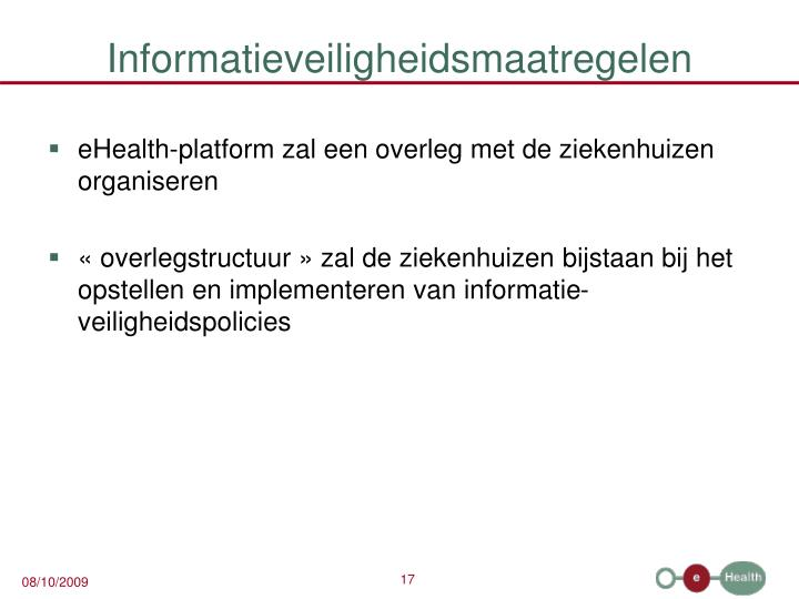 Informatieveiligheidsmaatregelen