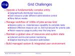 grid challenges