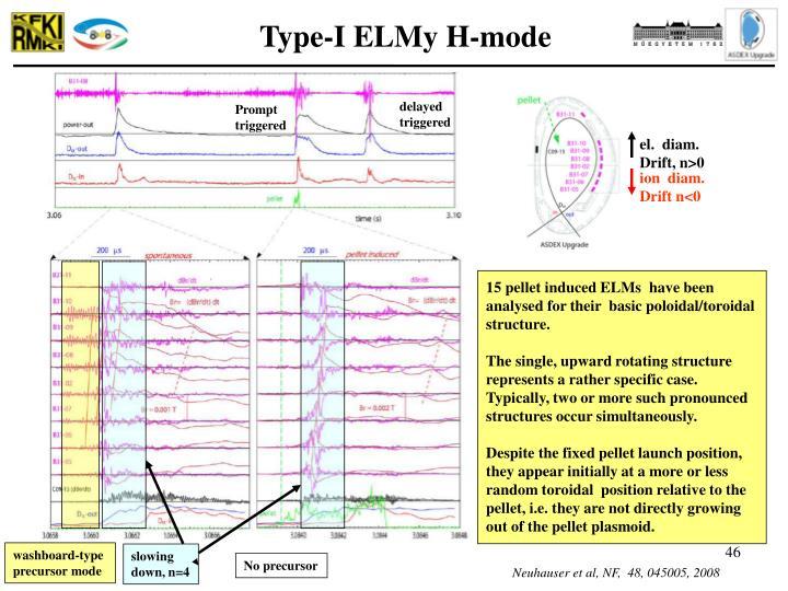 Type-I ELMy H-mode