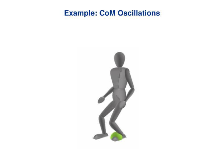 Example: CoM Oscillations