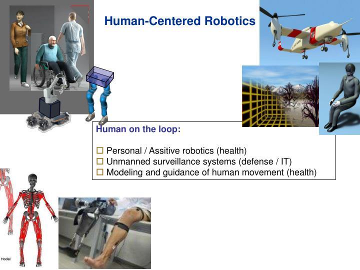 Human-Centered Robotics