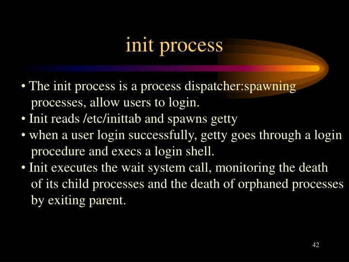 init process