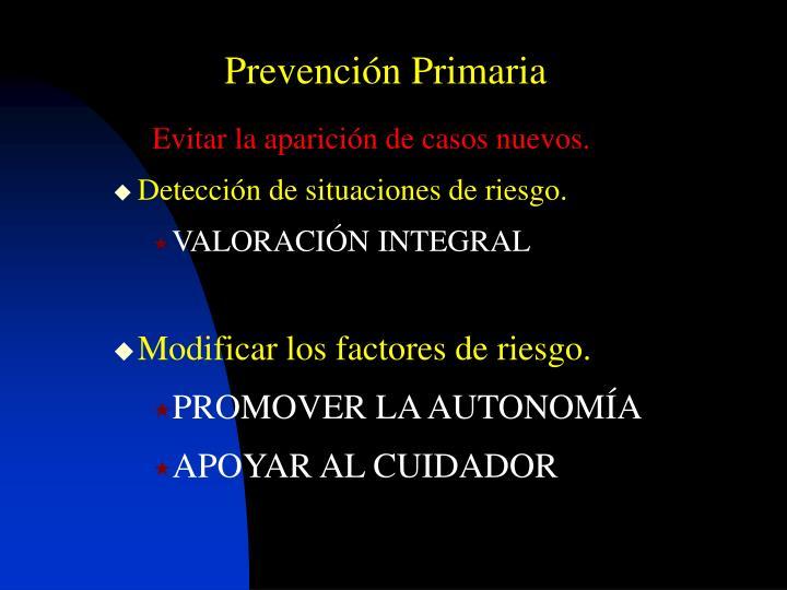 Prevención Primaria