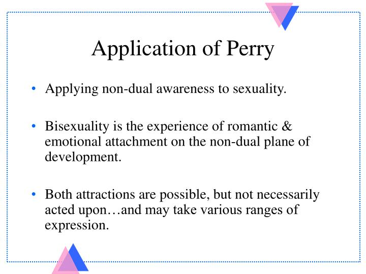 Application of Perry