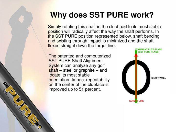 Why does SST PURE work?